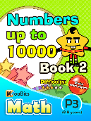 Numbers up to 10000 - P3 - Book 2