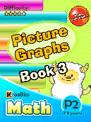 Picture Graphs - P2 - Book 3