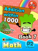 Addition within 1000 - P2 - Book 7