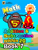 Addition & Subtraction within 20 - K2 - Book 7