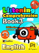 Listening Comprehension - Primary 1 - Book 3