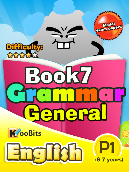 Grammar General - Primary 1 - Book 7