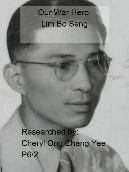 Our war Hero:Lim Bo Seng