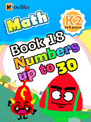Numbers up to 30 - K2 - Book 18