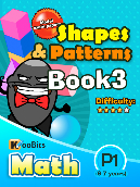Shapes & Patterns - P1 - Book 3