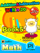 Addition & Subtraction within 20 - P1 - Book 5