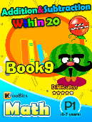 Addition & Subtraction within 20 - P1 - Book 9