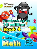 Numbers up to 10 million - P5 - Book 4