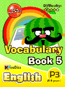 Vocabulary - Primary 3 - Book 5