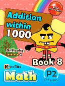 Addition within 1000 - P2 - Book 8