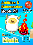 Addition & Subtraction - P2 - Book 23