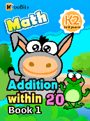 Addition within 20 - K2 - Book 1