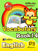 Vocabulary - Primary 3 - Book 14