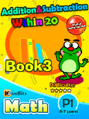 Addition & Subtraction within 20 - P1 - Book 3