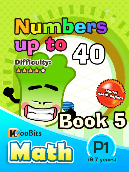 Numbers up to 40 - P1 - Book 5