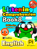 Listening Comprehension - Primary 1 - Book 8