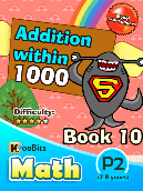 Addition within 1000 - P2 - Book 10