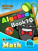 Algebra - P6 - Book 10