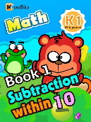 Subtraction within 10 - K1 - Book 1