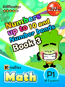 Numbers up to 10 and Number Bonds - P1 - Book 3
