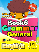 Grammar General - Primary 1 - Book 6