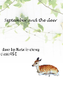September and the deer