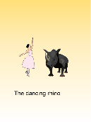 The dancing rhino