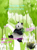 Hannah the lonely panda
