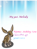 My Pet Melody