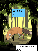 Bach the fox