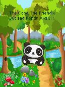 The good, friendly but sad Panda