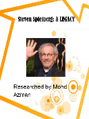 Life of Steven Spielberg