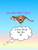 Save the white tigers!