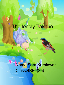 The lonely Takahe