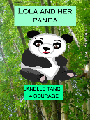 Lola and her panda